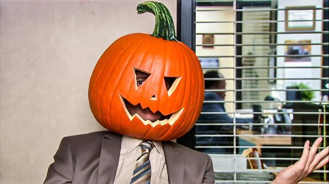 When Halloween falls on a week day..... #happyhalloween #keepingupwithaquarius #theoffice #officehumor #staffingagency #recruiterlife