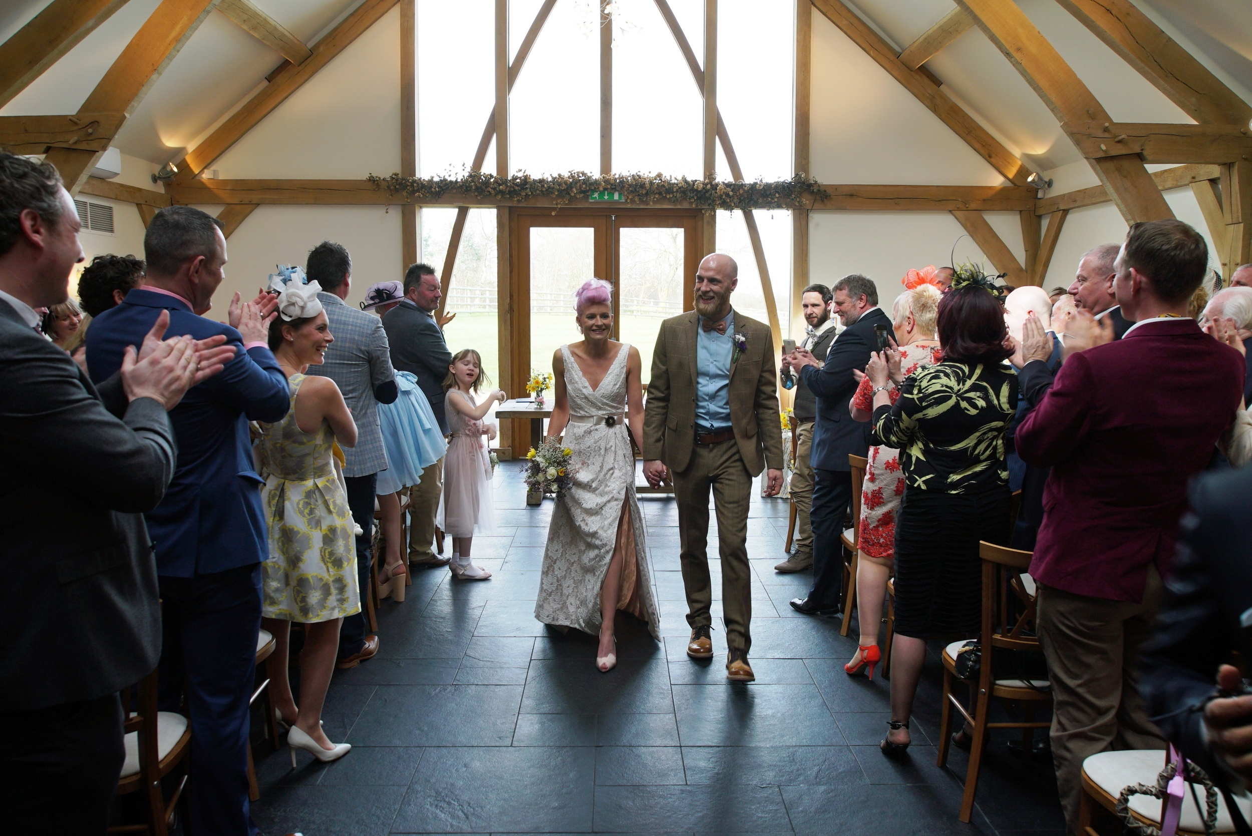 Sam & Toby - Wedding Ceremony Mythe Barn | www.myperfectceremony.co.uk