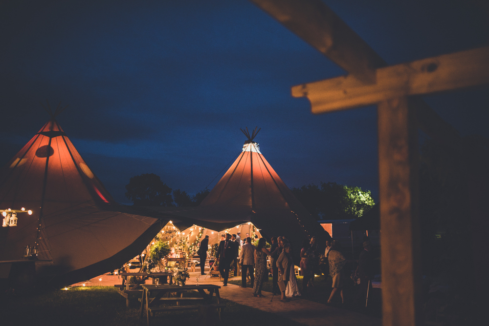 Amber & Richard - Outdoor Tipi Wedding Ceremony | www.myperfectceremony.co.uk