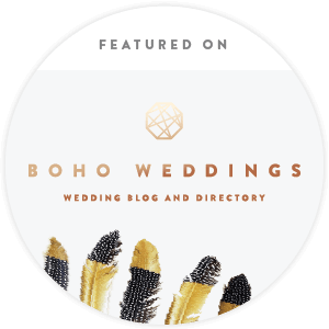 My Perfect Ceremony Featured on Boho Weddings - Wedding Blog & Directory