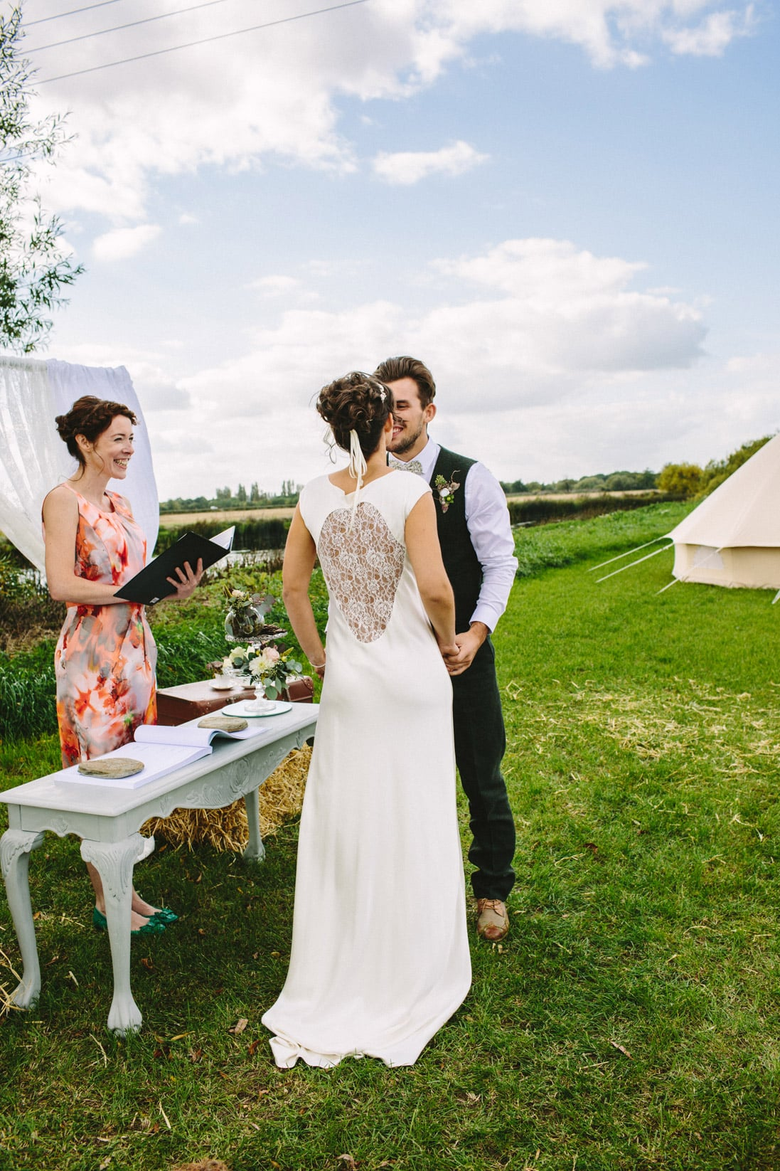 Swarkestone Farm, Derbyshire. A Sami Tipi exclusive venue
