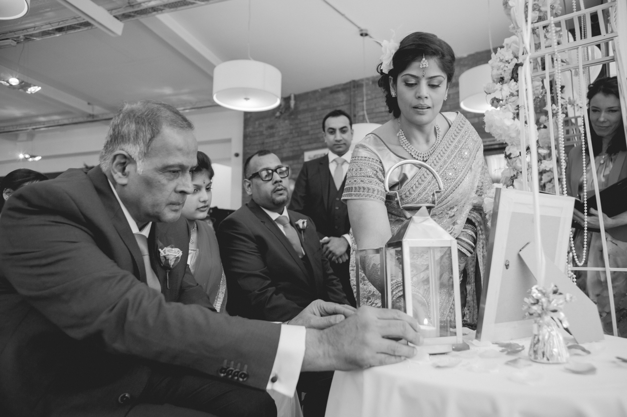 A Hindu inspired celebration