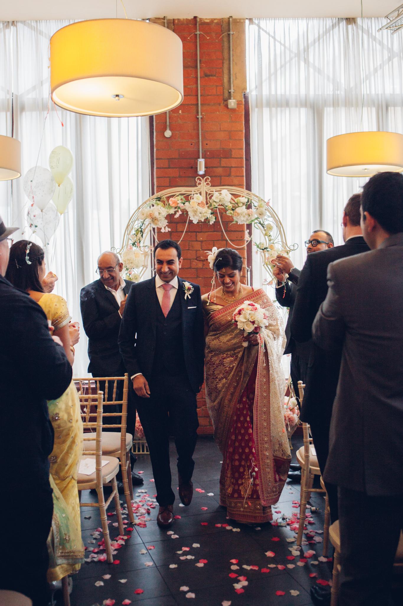 My Perfect Ceremony - Wedding Celebrant Testimonial - Kaajal & Nilesh