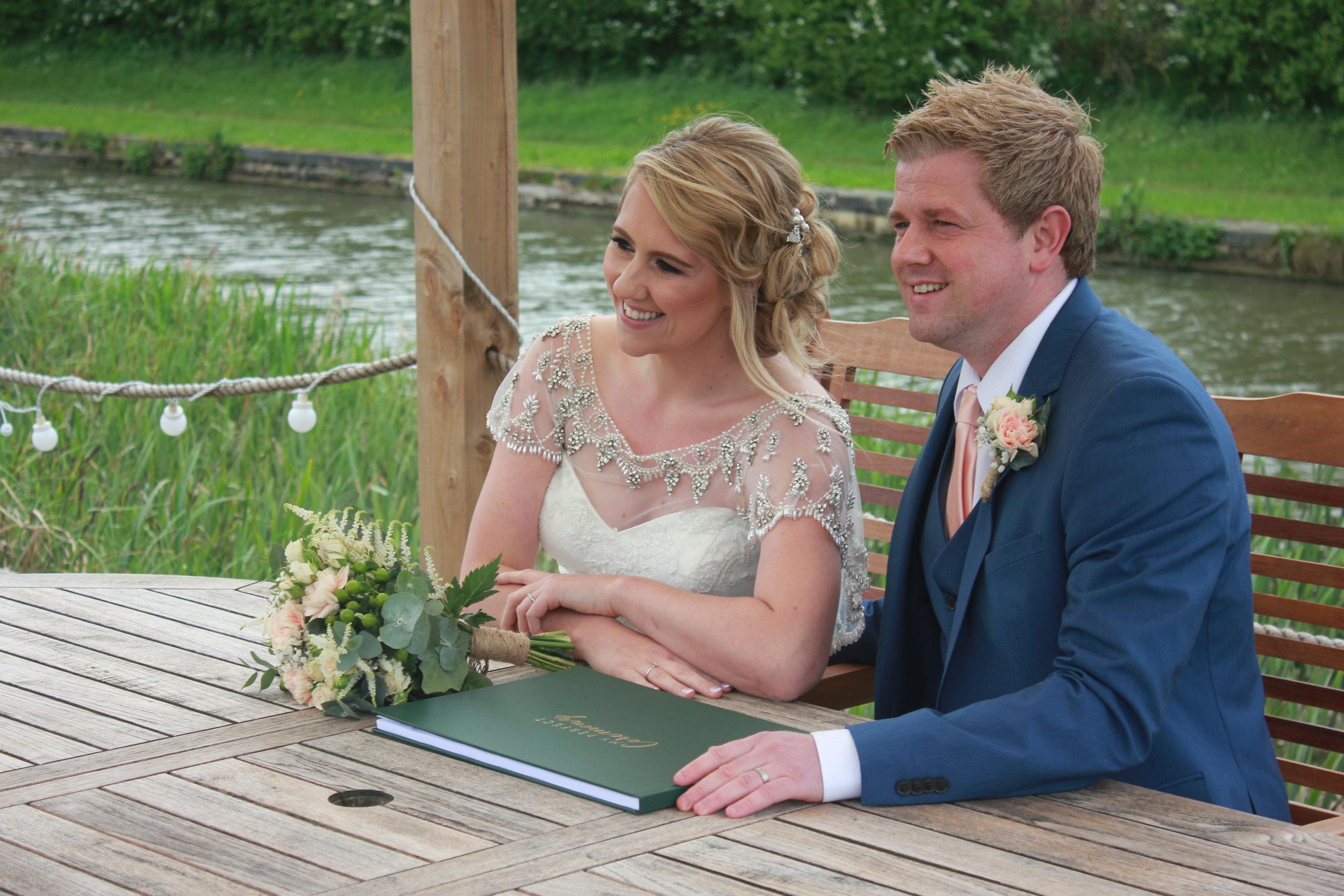 My Perfect Ceremony - Wedding Celebrant Testimonial - Lucy & Wayne