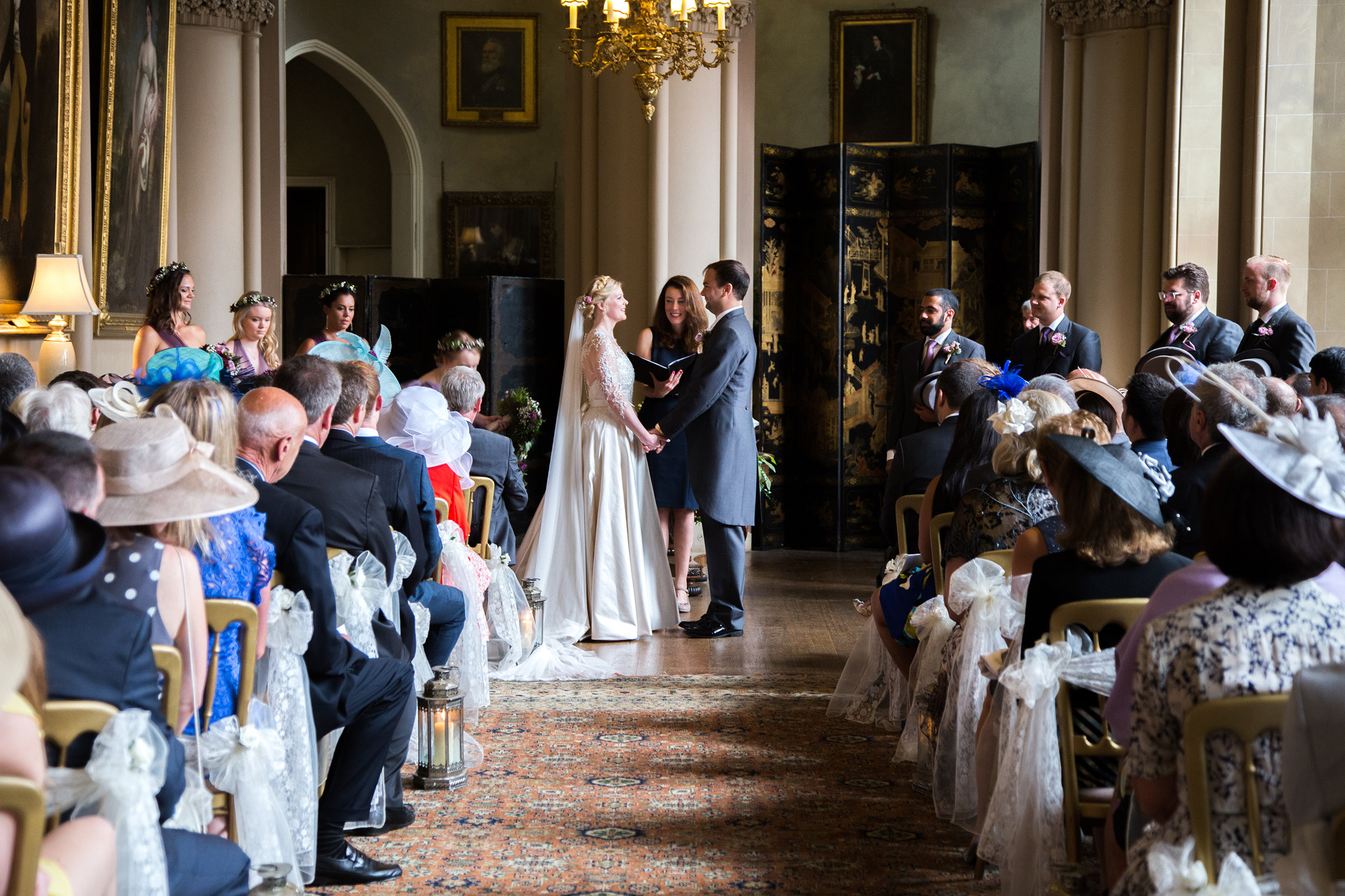 A traditional wedding with an American twist at the beautiful Belvoir Castle