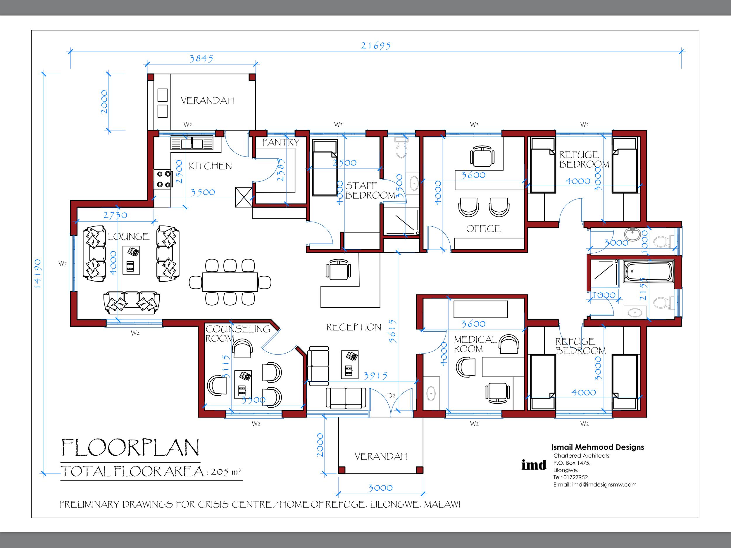 Original Floor Plan Drawings - Summer 2018