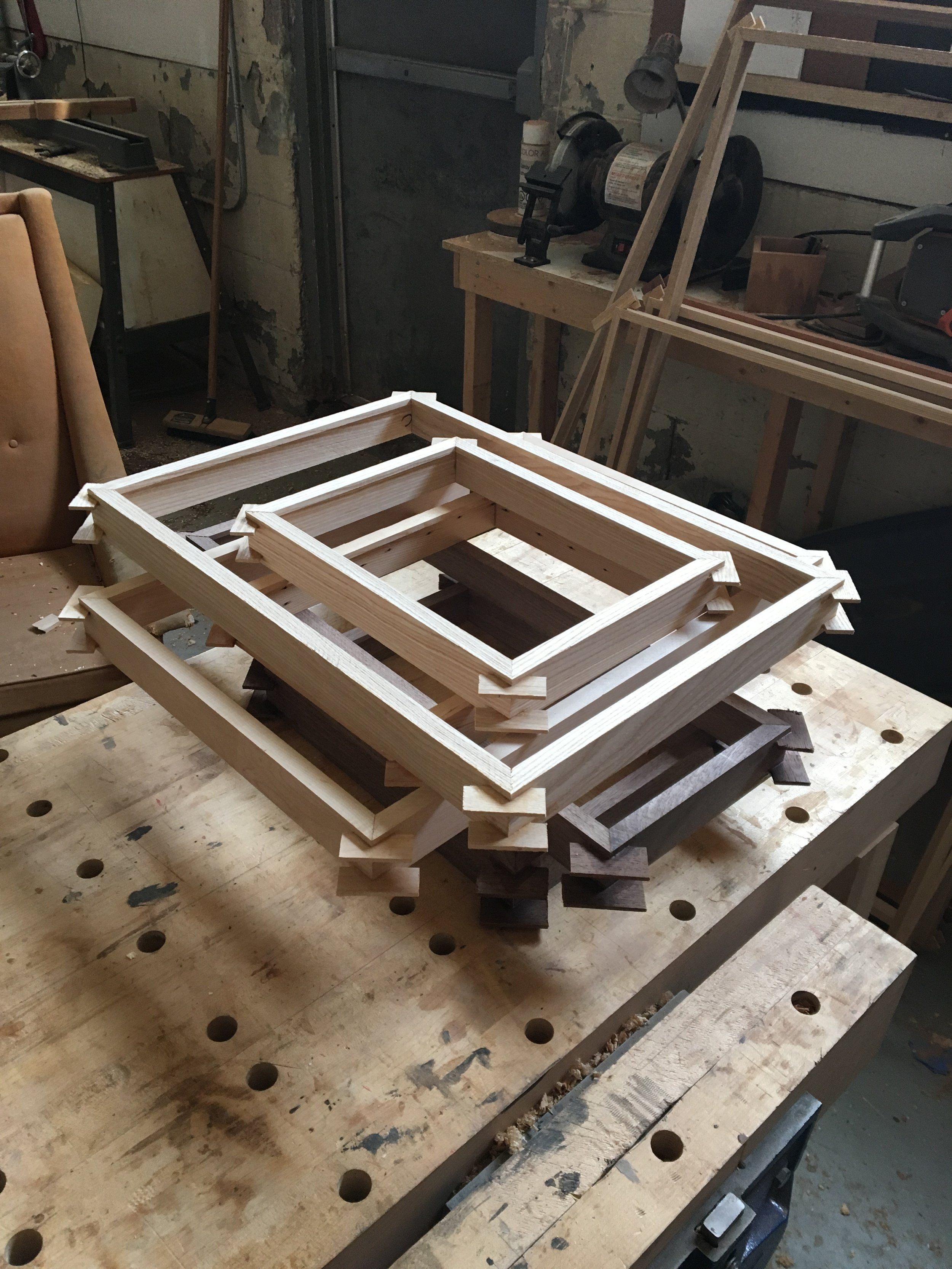 Nicholas Hamilton Holmes - Sculpture & Furniture Design - Workshop