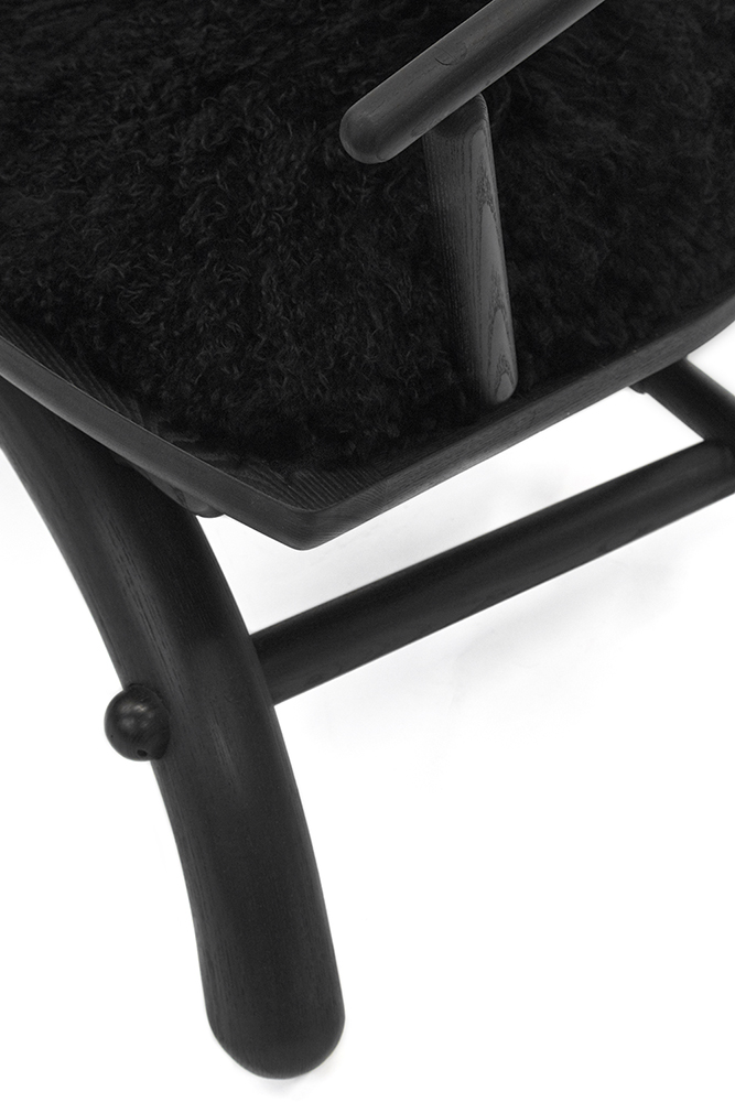Rainbow Chair Details