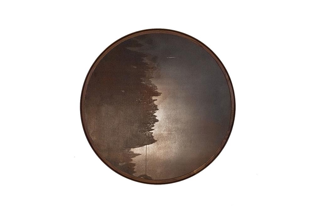 Porthole Mirror - Soldi Wood Frame Mirror