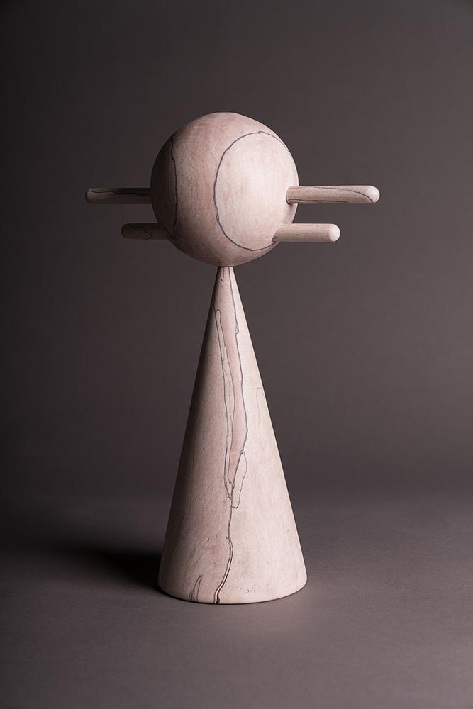 Useful/Useless Wood Sculpture