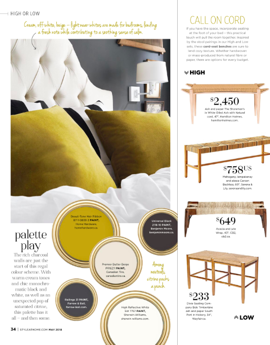 Style at Home Magazine--May 2018