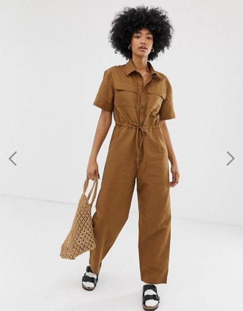 Screenshot_2019-09-13 Weekday boilersuit with side pockets in brown ASOS.png