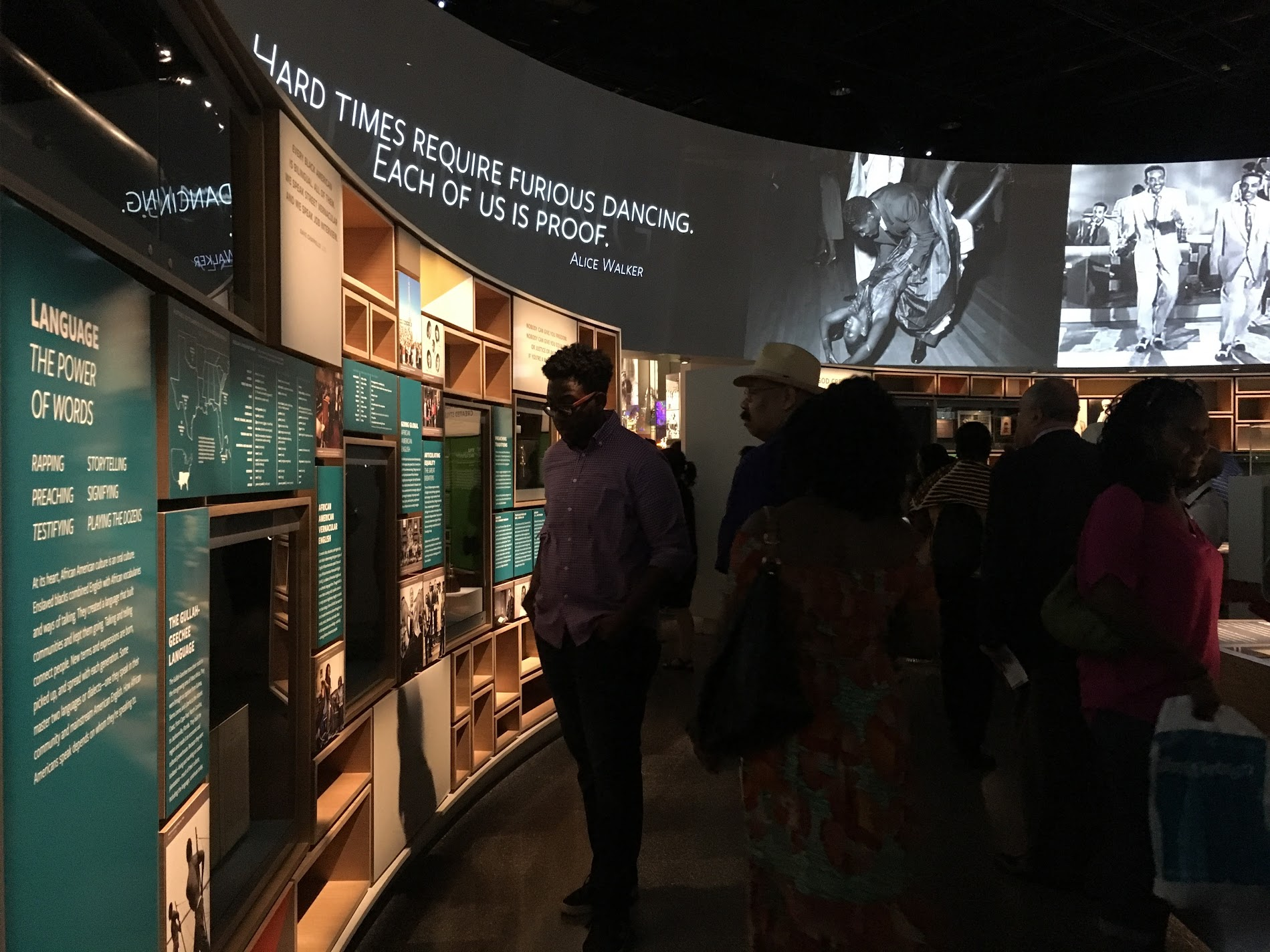Main themes in the Cultural Expressions gallery include adaptation, improvisation, agency, identity, imagination and representation. Photo credit: Aki Carpenter