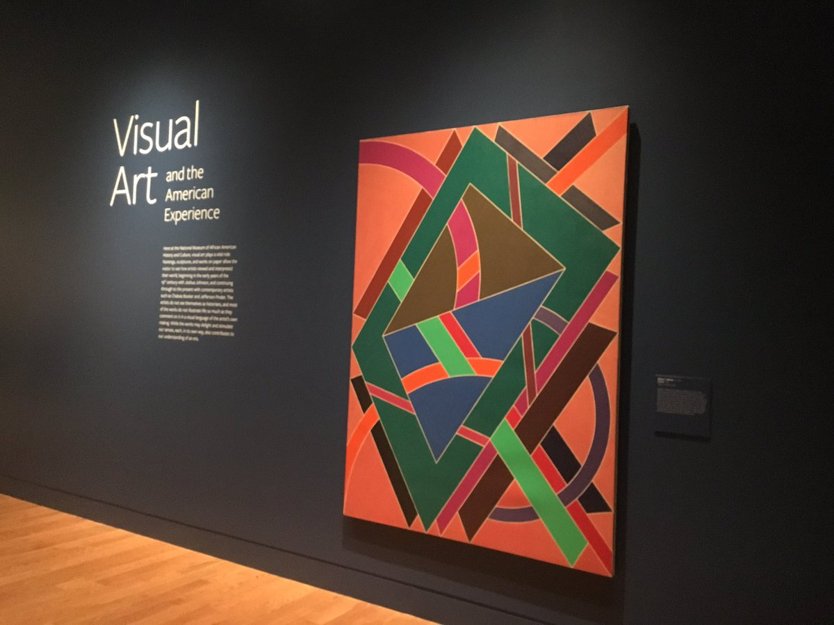 VISUAL ART is a gallery   dedicated to illustrating the critical role American artists of African descent played in shaping the history of American art.   Photo credit: Studio Museum Harlem (Twitter)