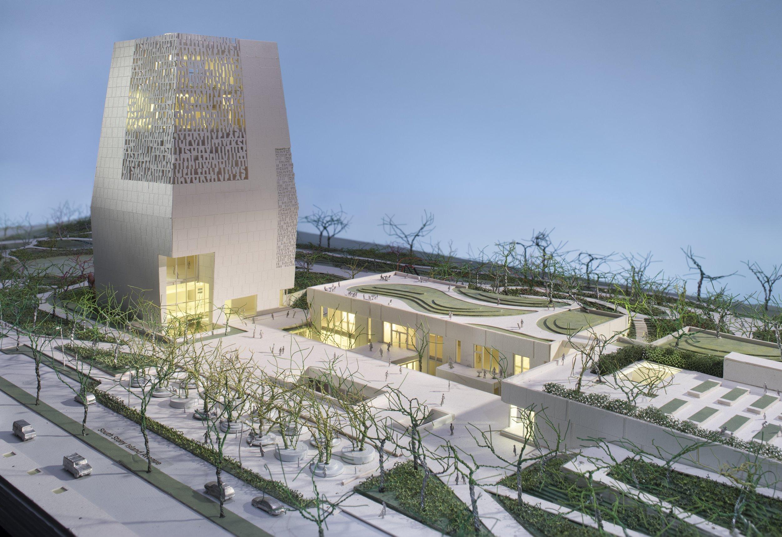 Model: Tod William Billie Tsien Architects
