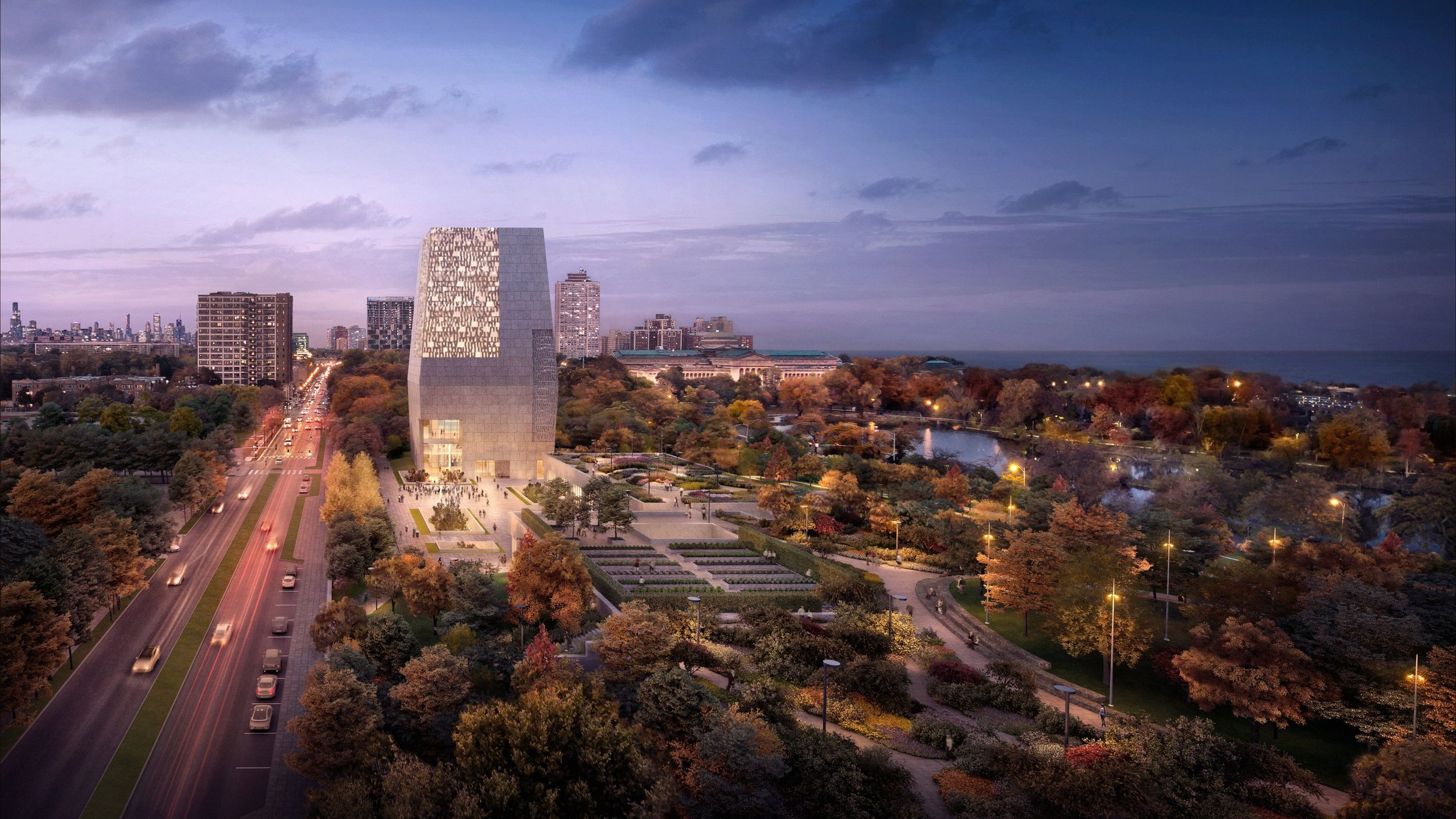 Image by DBOX for The Obama Foundation, Architecture: Tod Williams Billie Tsien Architects