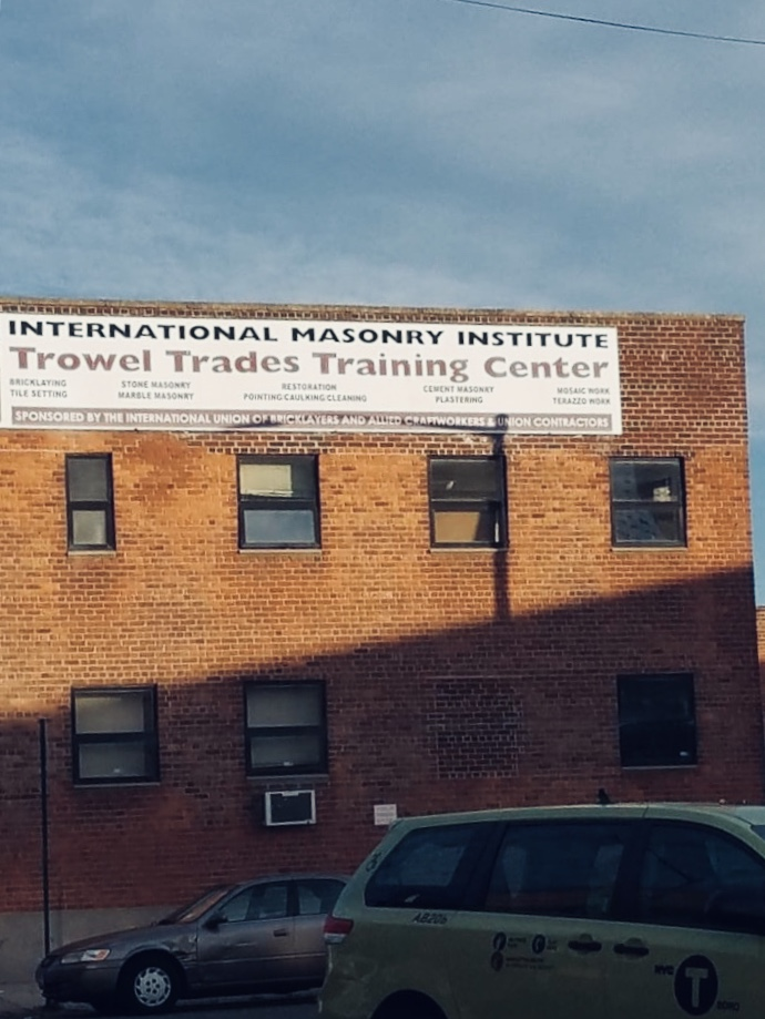 International Masonry Institute, John B. Scola Training Center 12-07 44th Ave, Long Island City, N.Y. 11101