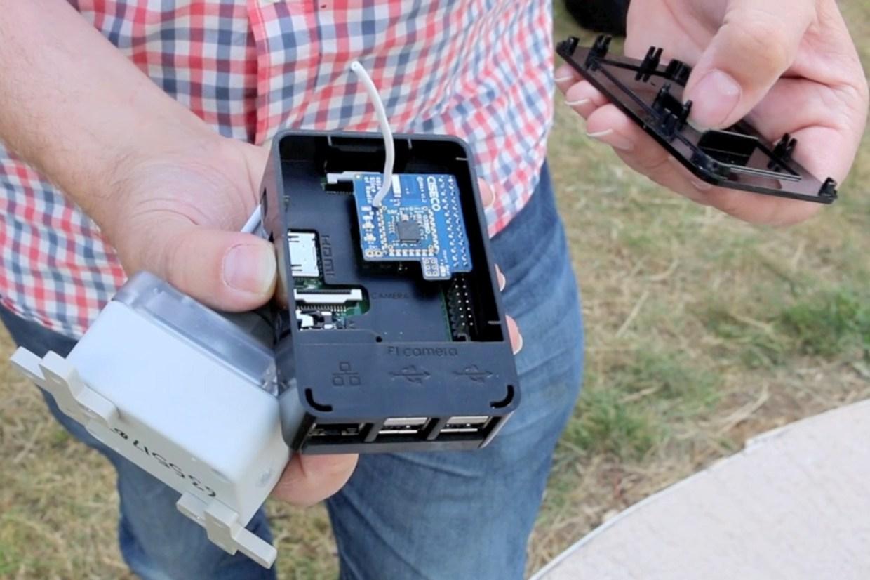 Community flood sensor and gateway hardware.