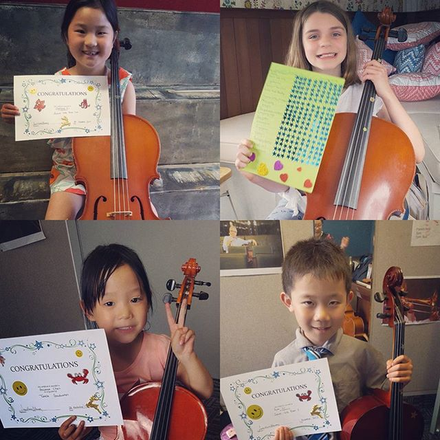 SO MANY CELEBRATIONS !!!! Congratulations to these wonderful achievers 👌🎉🎉🎉😉 #cello #achievment #dedication #perserverance #proudteacher