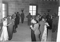 Officers and young women dancing at Hitlers Eagles Nest