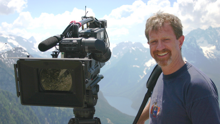 Travel Writer and Producer Jon Lapidese at the Eagle's Nest