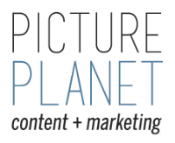 Picture Planet Content Logo
