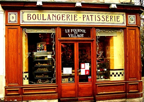 I often visited the patisseries in Paris