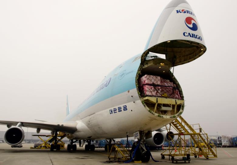 KAL 747 Cargo Jet