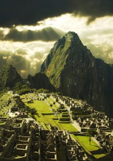 World famous Machu Picchu