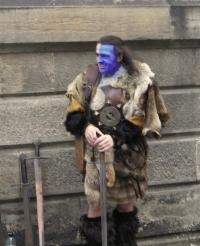 Braveheart lurks beneath the genteel Scottish surface.