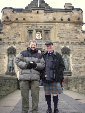 Jon Lapidese in Edinburgh