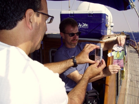 Behind the scenes at a Flat Stanley shoot