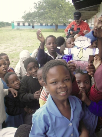 Flat Stanley is popular with children all over the world