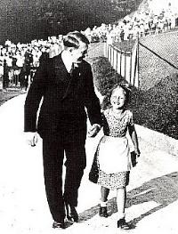 Hitler welcomed children