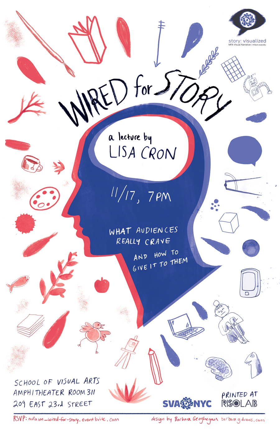 Wired For Story Poster
