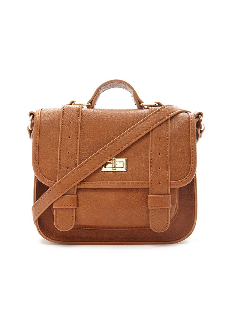 Dual Strap Mini Satchel - Forever 21 (WANT)