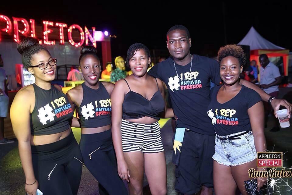 Antiguan UWI Students Repping Stooge Designs