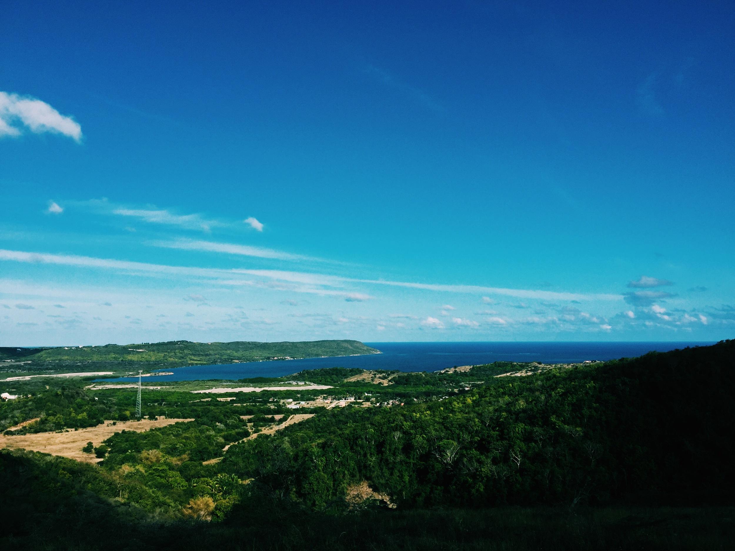 The view overlooking Bethesda