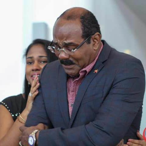 Prime Minister Gaston Browne of Antigua and Barbuda