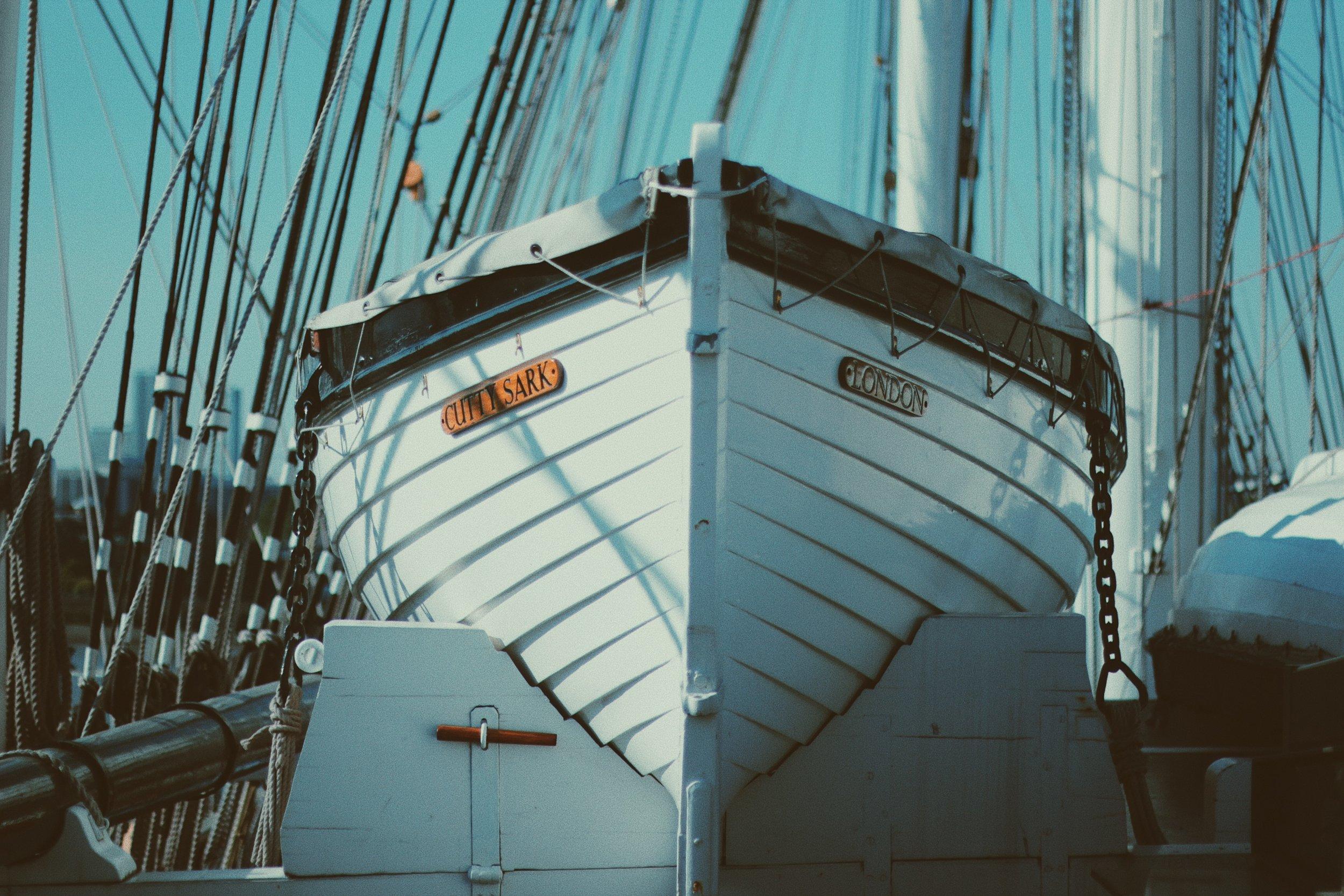Cutty Sark Life Boat