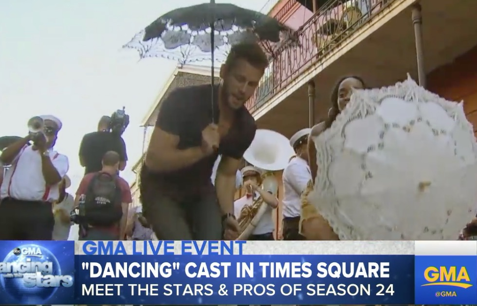 Please God let this be an indicator of this sad man's dancing skills