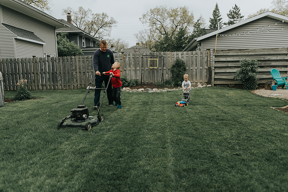 documentary photography family session