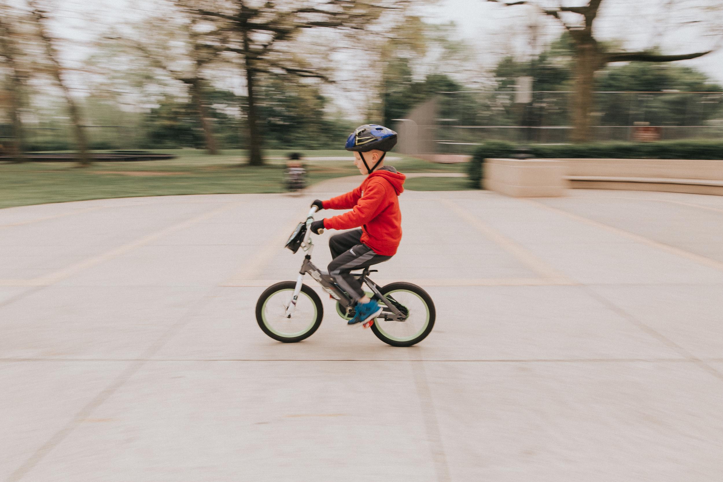 panning bike shot inspiration