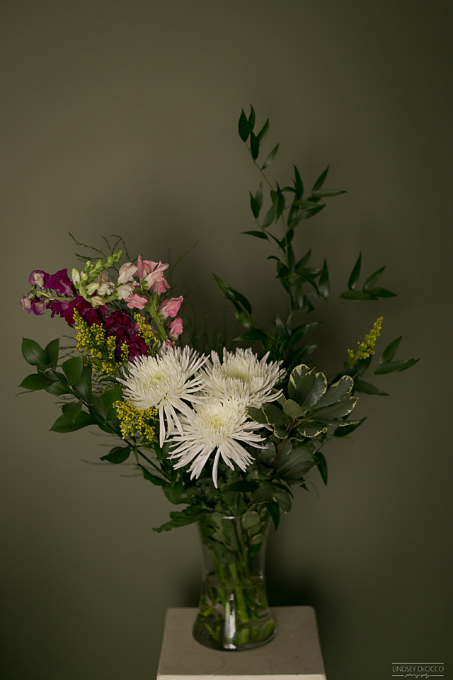 Bouquet is by Just Because. The lucky winner will receive one!