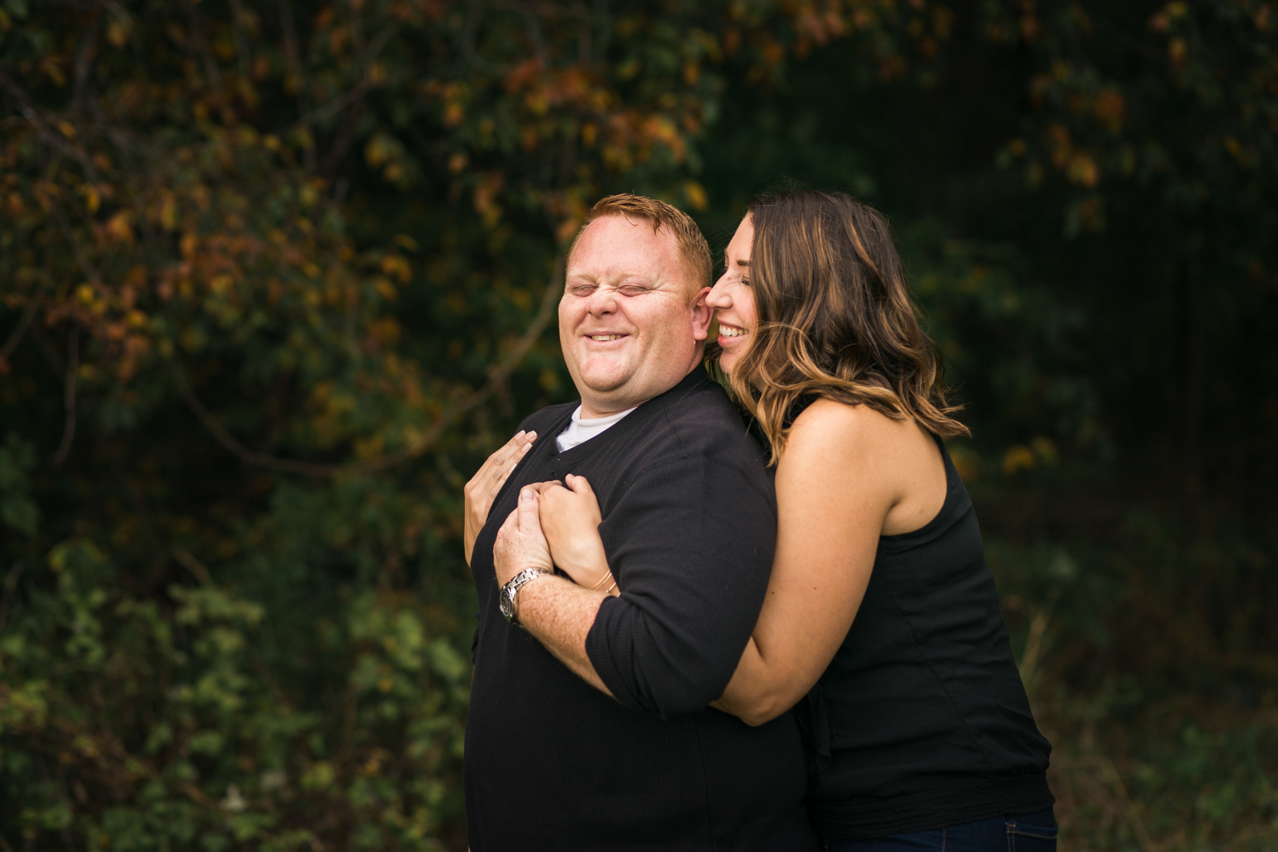 Mishawaka engagement pictures at farm