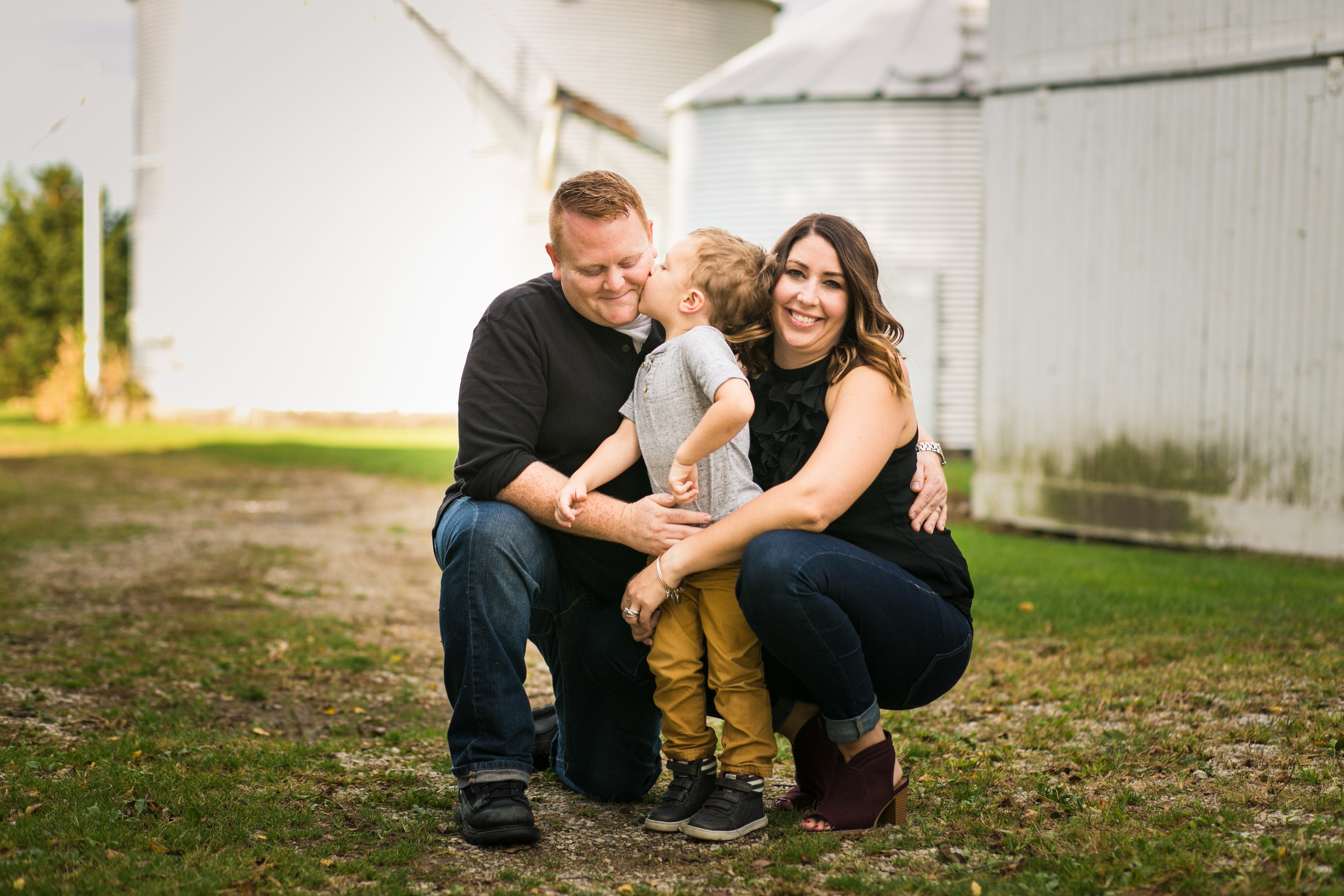 Immediate family photos