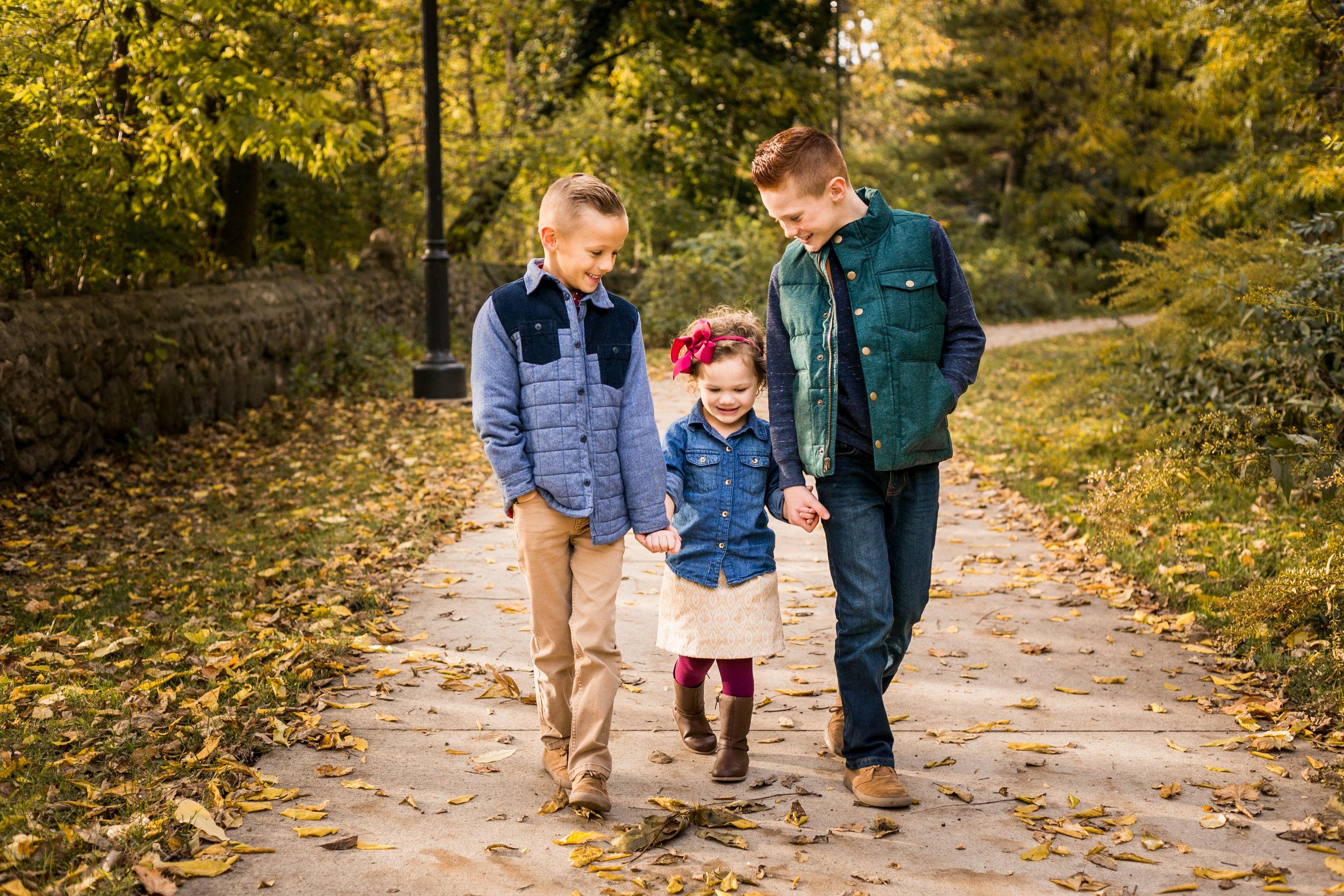 Professional family photos, children