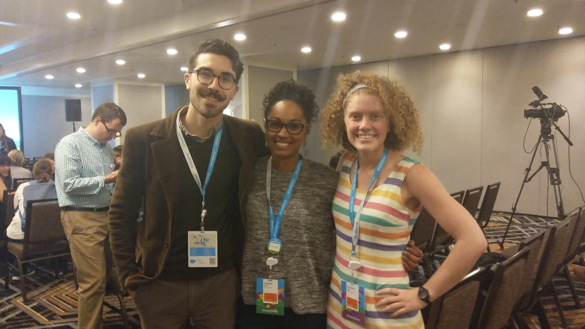 Baltimore Corps staff at Dreamforce Conference in San Francisco