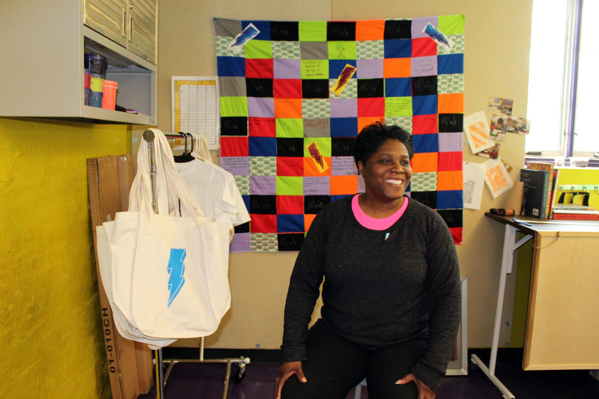 Kisha Webster, Founder of The Greenmount West Community Center Foundation