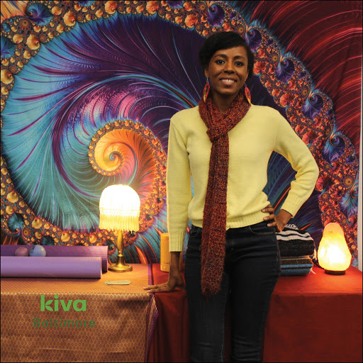 Dea Lott at Kiva Baltimore's Pitch Competition, January 2019